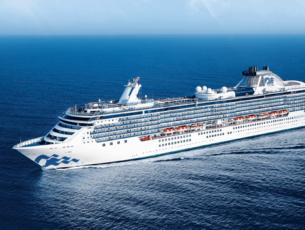 De Coral Princess maakt in 2020 en 2021 cruises naar bestemmingen in Zuid-Amerika © Princess Cruises