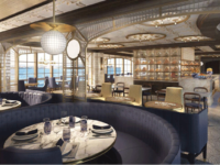 Restaurant La Mer komt op de Sky Princess en de Enchanted Princess. : © Princess Cruises