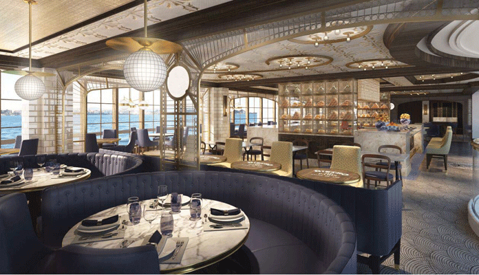 Frans specialiteitenrestaurant op Sky Princess en Enchanted Princess