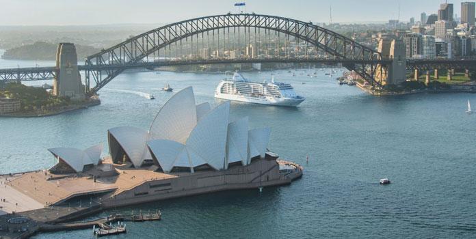 Cruises van Regent Seven Seas Cruises in 2018-2019 naar Australië