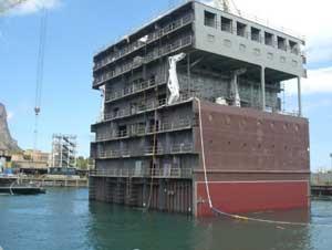 renovatie van MSC-cruiseschepen