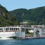 Ook grote cruiseschepen de Seine op