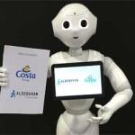 Costa en Aida zetten robots in om gasten te helpen en te vermaken