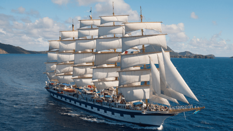 Cruise review Royal Clipper van Star Clippers