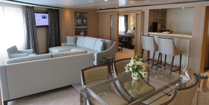 Seabourn Cruises Signature Suite