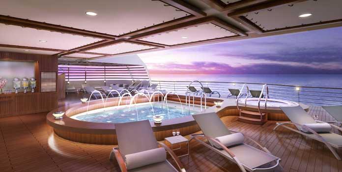 Seabourn neemt nieuwste ultraluxe schip Seabourn Encore in ontvangst