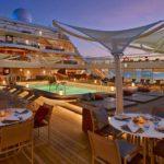 Dineren in de open lucht nieuwe ervaring bij Seabourn
