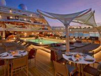 Pool Patio op de Seabourn Encore en de Seabourn Ovation. © Seabourn Cruise Line