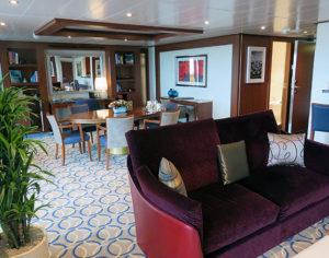 Wintergarden suite op de Seabourn Ovation © Nico van Dijk