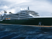 Artist impression van de Seabourn Venture. Cruises met de Seabourn Venture zijn nu al te boeken © Seabourn