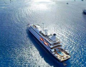 De SeaDream I en SeaDream II. De schepen waarmee SeaDream vaart, zijn meer megajachten dan cruiseschepen © SeaDream