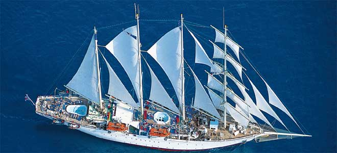 cruise met Star Clippers
