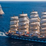 Yoga cruises op een Star Clipper