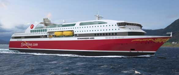 Ferry Stavangerfjord