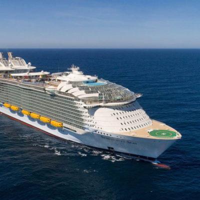 Dit zijn 10 de grootste cruiseschepen ter wereld
