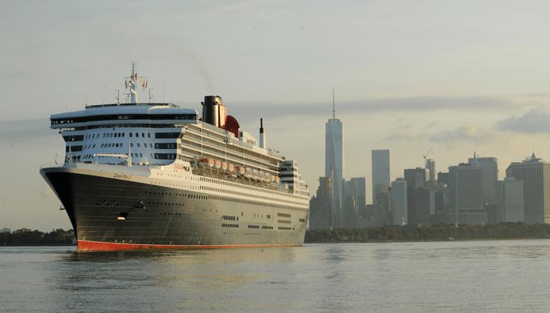 Een transatlantische cruise naar New York met de Queen Mary 2 van Cunard Line blijft een belevenis. © Cunard Line