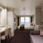 Vista suite op ms Koningsdam